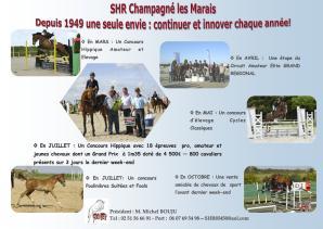 SHR Champagné les Marais